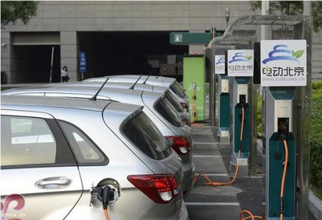明年底前北京新能源车保有量将达到40万辆
