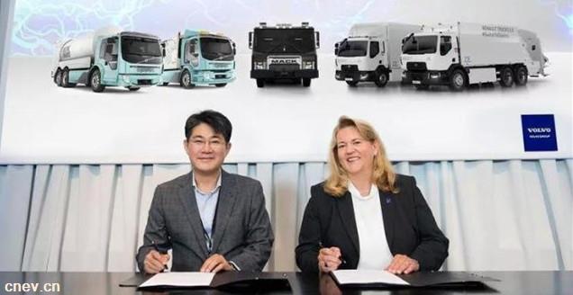 沃尔沃集团与三星SDI建立战略联盟,持续发力电动交通