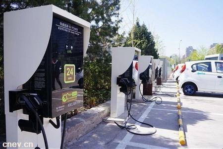 海口新能源车充电基础设施项目开工  建2221个充电桩