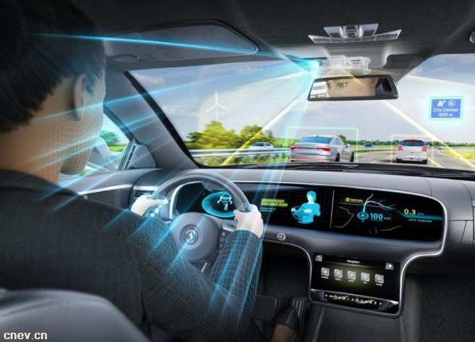 大陸集團為自動駕駛提供整合前置和內置攝像頭