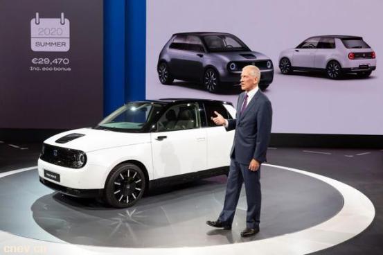 本田首款纯电动汽车本田E即将推出,售价3.3万美元起