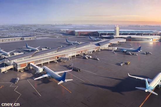 真方便!郑州机场上线新能源汽车分时租赁业务