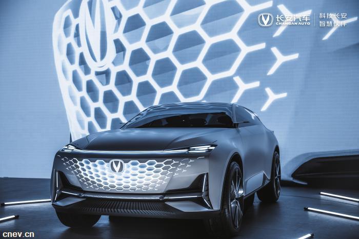 助推品牌向新向上 长安概念车VISION V亮相