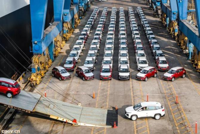 出口加速 500辆宝骏530正式运往墨西哥