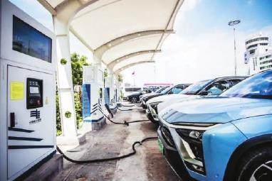 新能源汽车助力碳达峰