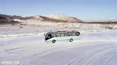 """为参加北京冬奥会 电动汽车装上了抗冻""""心脏"""""""