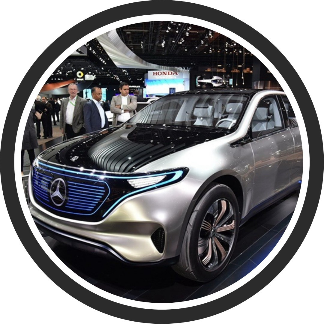 奔驰EQC纯电动SUV动力参数爆出,5秒以内破百