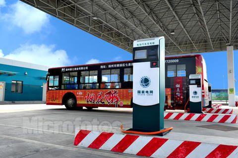 徐州市建成首个公众电动汽车充电站