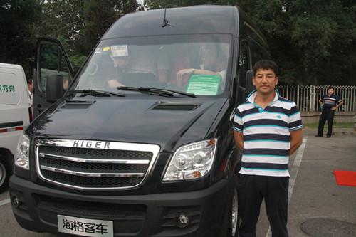 海格纯电动客车服务北京地区航空通勤