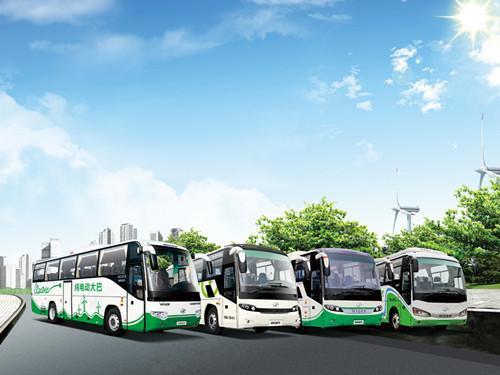金龙海格新能源客车:首家获得营运客车等级