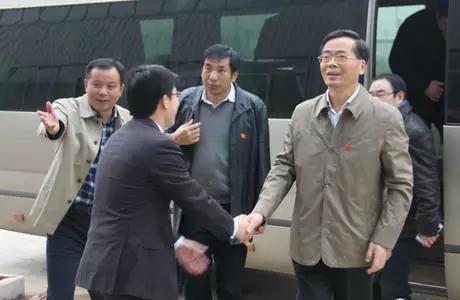 宣城市市长韩军等一行领导莅临考察鑫盛汽车