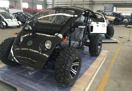 中国制造之低速电动车开往迪拜!