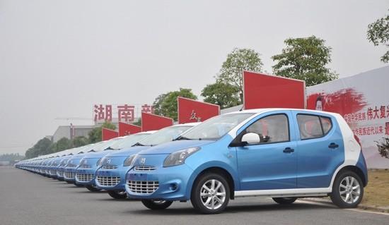 湖南助推新能源汽车发展 产需对接超30亿元