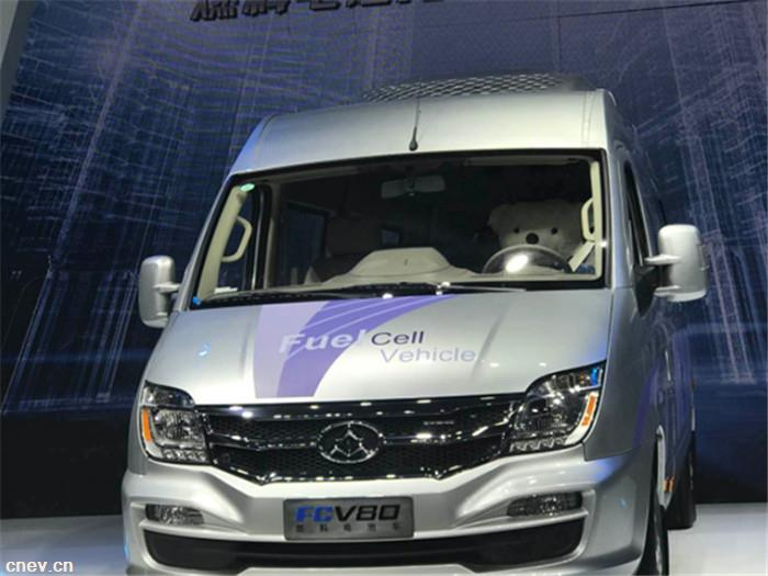 上汽大通燃料电池车FCV80量产上市 补贴后售价30万