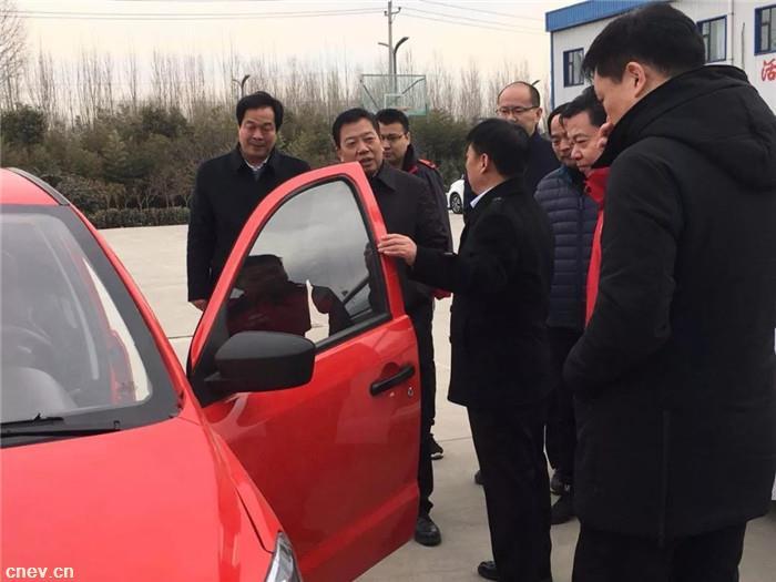 热烈欢迎偃师市领导到大河公司新春慰问