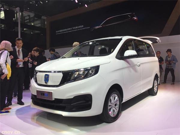 2018广州车展:华晨雷诺金杯领坤EV首发