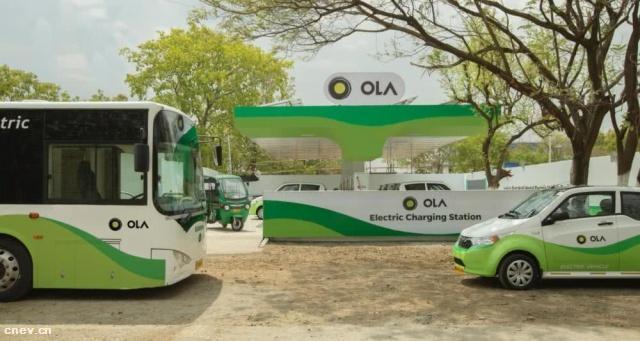 印度网约车Ola分拆电动汽车业务