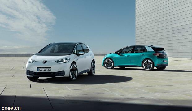 大众纯电动汽车ID.3启动量产,希望以此车型超越特斯拉