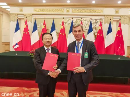 重磅丨中法兩國元首共同見證,天能和帥福得在人民大會堂簽署合作協議