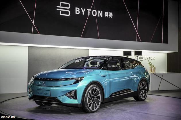 关注 | 中国电动汽车创业公司拜腾获加州经销商许可