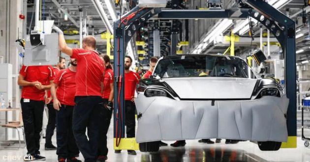 揭秘保時捷電動汽車工廠,全新Taycan就是在這兒造出來的