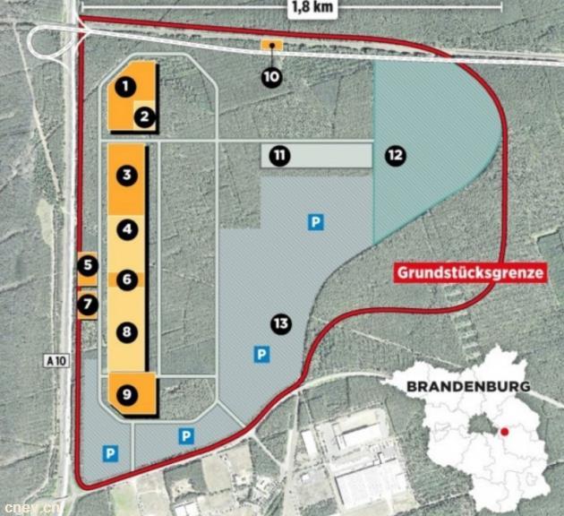 特斯拉计划在欧洲4号超级工厂实现75万辆EV量产目标
