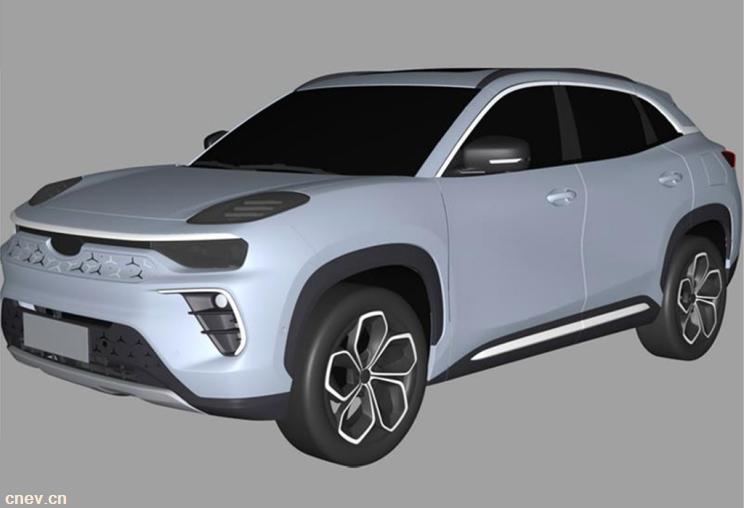 全铝平台!奇瑞新能源新车专利图流出