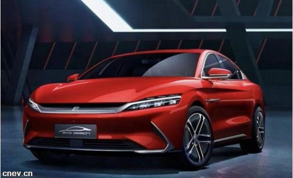 比亚迪汉EV 506km车型信息曝光:搭载刀片电池 预计售价30万内