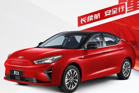 江淮汽车纯电动轿车iC5上市