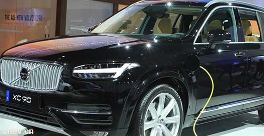 沃爾沃汽車將在其模型系列中引入電動汽車產品組合