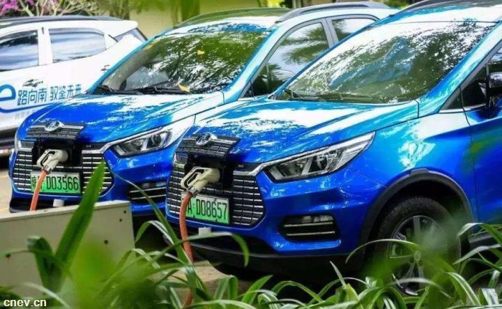 海南省今年已推广新能源汽车5580辆