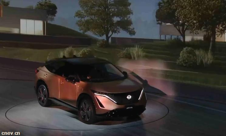 全新纯电SUV 日产Ariya实车正式发布