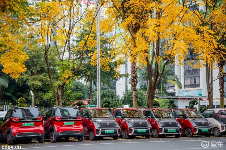 上汽通用五菱携多车型下乡 助力新能源走向人民中