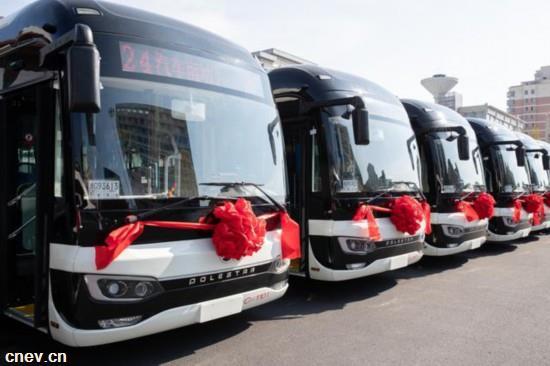 国内新能源汽车快速增长 全国公交车电动化比例提高至60%