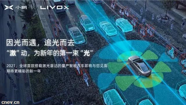 小鹏与大疆孵化公司达成合作 2021年全新车型将搭载其激光雷达