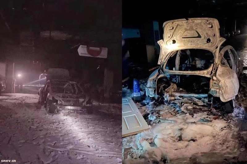 上海特斯拉Model 3起火爆炸回应:或因车底碰撞引发