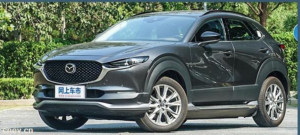 电动车颜值扛鼎之作,长安马自达CX-30 EV能体现更高价值感