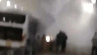 安凯电动客车爆炸 相关负责人表示上述现象..
