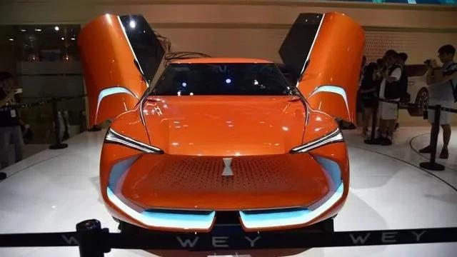 最大续航530公里 百公里加速4.6s 成都车展长城汽车发布纯电动SUV WEY-X车型!